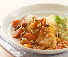 Arabic Food Recipes: Moroccan Chicken Stew - How to make Moroccan Chicken Stew