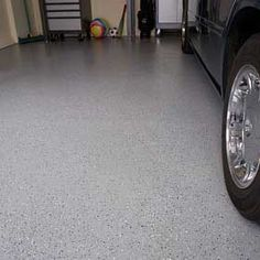 Getting that showroom finish for your garage floor doesn't have to be hard or costly