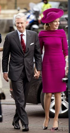 MYROYALS &HOLLYWOOD FASHİON: King Philippe and Queen Mathilde Visit The Netherlands