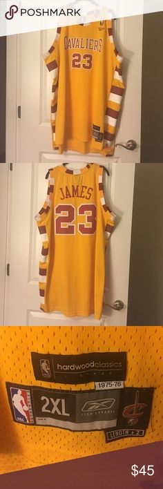 Cleveland Cavs Reebok Jersey Wonderful jersey slightly used for the ultimate fan Reebok Other