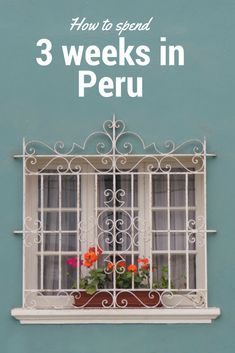 Looking for things to do in Peru? Here is the perfect 3-week Peru itinerary covering the Amazon Rainforest, Arequipa, Colca Canyon, Lake Titicaca, Cuzco, Machu Picchu and Lima.