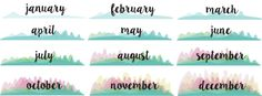 Today's gift is a printable calendar. The new year will be here before we know it and it would be so great to already have a calendar on han…