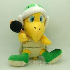 "YOSHI GREEN 7/"" Sitting Plush Doll Soft Figure #SM"