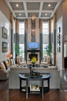 Toll Brothers - The Henley Family Room