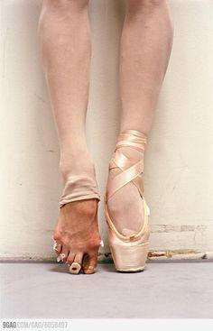Ballet needs hard work.