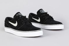 check out 46833 3de68 The Nike SB Stefan Janoski Black   Black is available to buy now. The  Janoski is one of the most popular silhouettes of the sneaker game.