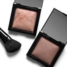 BareMinerals Invisible Glow & Invisible Bronze Powders, review and swatches