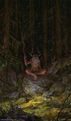 """quarkmaster: """" Prophet of Dark Forest Veli Nyström """""""