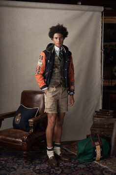 Polo Ralph Lauren Spring 2019 Menswear Fashion Show Collection Preppy Boys, Preppy Style, Preppy College Style, Preppy Outfits, Vogue Paris, Ivy Style, Dope Style, Style Men, Polo Ralph Lauren