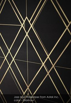 Jazz Age wallpaper from Astek Inc. in Glamour