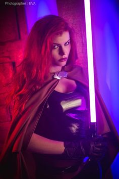 Can never have too much Mara Jade Red Hair Cosplay, Cosplay Girls, Star Wars Painting, Fantasy Star, Star Wars Girls, Star Wars Jedi, Star Trek, Star Wars Wallpaper, War Photography
