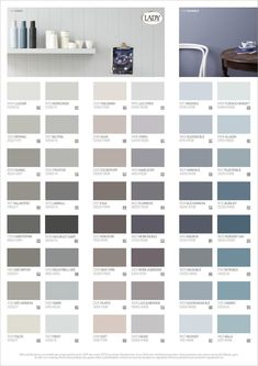 LADY Våra vackraste kulörer Färgkarta by Jotun Sverige AB - issuu Paint Colors For Living Room, Paint Colors For Home, Bedroom Colors, Wall Colors, House Colors, Colours, Sico, Jotun Lady, Paint Color Schemes