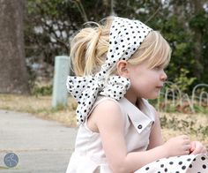 Easily Interchangeable Headband by Jess the Sewing Rabbit | The Polka Dot ChairThe Polka Dot Chair
