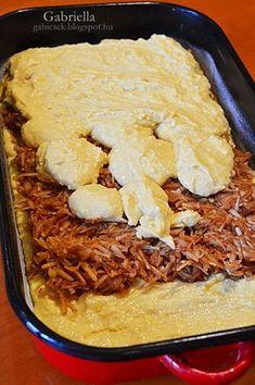 Gabriella kalandjai a konyhában :): Kavart almás Hungarian Desserts, Hungarian Recipes, Sweet Recipes, Cake Recipes, Homemade Sweets, Baking And Pastry, Sweet Cakes, Food To Make, Food And Drink