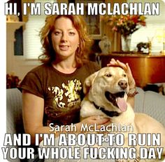 Haha I feel this way every time I see this commercial!  Damn you, Sarah.