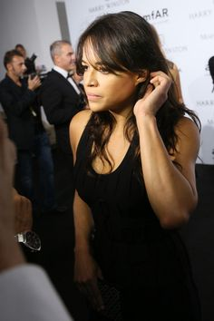 Michelle Rodriguez Photos - amfAR Milano 2015 - Best of Harry Winston - Zimbio