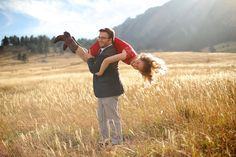 Wedding photos in Boulder Colorado at the Flatirons during sunset.