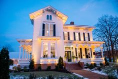 Merrimon-Wynne House in #Raleigh - beautiful event and wedding venue! Photo by Tim Willoughby from the Grand Opening Party. #DowntownRaleigh #weddingVenue @The Merrimon-Wynne House