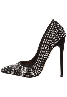 ¡Consigue este tipo de zapatos de salón de Lost Ink ahora! Haz clic para ver los detalles. Envíos gratis a toda España. Lost Ink ALEXIA HOTFIX COURT Zapatos altos black: Lost Ink ALEXIA HOTFIX COURT Zapatos altos black Zapatos   | Material exterior: tela, Material interior: cuero de imitación/tela, Suela: fibra sintética, Plantilla: cuero | Zapatos ¡Haz tu pedido   y disfruta de gastos de enví-o gratuitos! (zapatos de salón, salon, court, courts, pumps, zapatillas, escarpins, tacchi ...