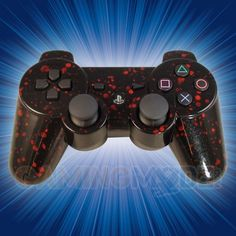 Black Blood Splatter Playstation 3 Modded Controller is a perfect gift for a special gamer in your life! All of GamingModz.com PS3 modded controllers are compatible with every major game on the market today. If you decide to get one of our Xbox 360 or Playstation 3 modded controllers, your gaming experience will increase, overall performance will rise and it will allow you to compete against more experienced players. Watch the video now: http://www.youtube.com/watch?v=o6SU5bvHlY0=s