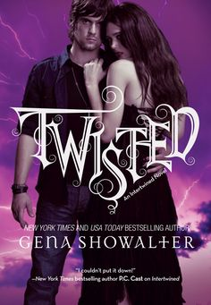 Cover for TWISTED, third book in the Intertwined series