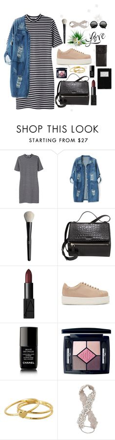 """""""concert"""" by itsmytimetoshinecoco ❤ liked on Polyvore featuring T By Alexander Wang, Chicnova Fashion, Organic Glam, Givenchy, NARS Cosmetics, SILENT by Damir Doma, Chanel, Christian Dior, Gorjana and Jenny Packham"""