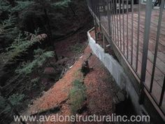 Avalon Structural has extensive experience with retaining walls and stabilizing hill side slopes in Santa Cruz County and the surrounding counties. http://santacruzconstructionguild.us/avalon-structural-inc/