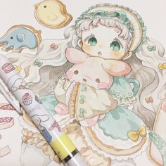 Được nhúng Kawaii Anime, Kawaii Chibi, Cute Chibi, Kawaii Art, Anime Art Fantasy, Art Anime, Anime Art Girl, Kawaii Drawings, Cute Drawings