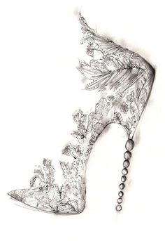 Feather glass slippers! Totally practical for everyday use!