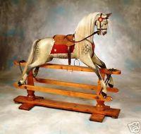 ANTIQUE ROCKING HORSES BY F.H. AYRES | eBay