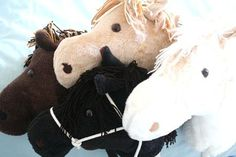 Free _Pattern and tute for hobby horse