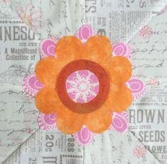 The Splendid Sampler - Block 49 Summer's Gift designed by Karla Eisenbach