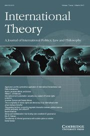 Reconstructing responsibility and moral agency in world politics Armed Conflict, Journal Covers, United Nations, Morals, Cambridge, No Response, Core, Politics, Theory