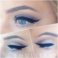 classic natural eye makeup idea