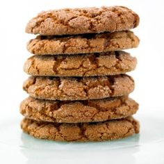 Lost my best ever Ginger Snaps recipe, hoping this replaces it. These are supposedly the delicious chewy kind. Soft Ginger Cookies, Yummy Cookies, Yummy Treats, Sweet Treats, Yummy Food, Sugar Cookies, Delicious Deserts, Baking Cookies, Fun Food