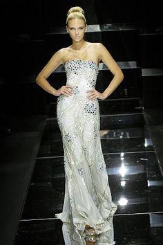 Elie Saab Spring 2008 Couture Fashion Show - Anna Tokarska