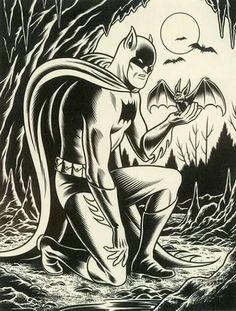 Charles Burns Batman