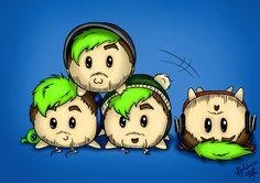 Cute Lil' JackaLoafs by NigthmareWolf on DeviantArt Jack And Mark, Jack Septiceye, Markiplier Fan Art, Disney Gender Bender, Youtube Gamer, Septiplier, Danisnotonfire, Best Youtubers, Dan And Phil