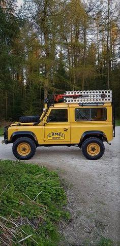 Camel Trophy for sale Defender For Sale, Land Rover Defender 110, Defender 90, Landrover Defender, 4x4, Trophies For Sale, Vintage Jeep, Toyota Trucks, Land Rover Discovery
