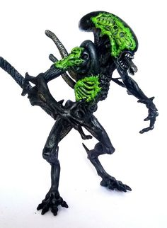 Alien (Battle Scarred) - Kenner (Aliens) Custom Action Figure