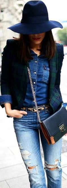 Emmy DE * #streetstyle for fall