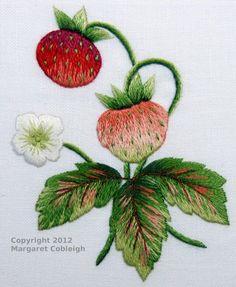 CORGI COTTAGE: Strawberries by Margaret Cobleigh (online course teacher)