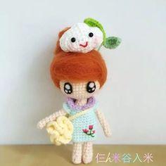 Crochet, amigurumi doll
