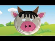 Máscara de vaca, disfraces caseros para carnaval