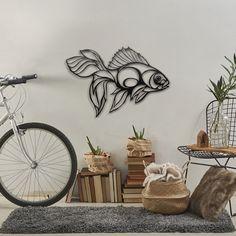 Yazın gelemeyişine istinaden yaz paylaşımlarına devam ediyoruz. Golden Fish tasarımı için metal deco kategorisini ziyaret edebilirsiniz.