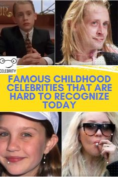 Growing up in Hollywood is unpredictable. A person can be a star who's on top of the world one momen. #celebrities #Celeb #Hollywood #SuperStars Top 10 Actors, Police Memes, Celebrities Then And Now, Beauty And Fashion, Without Makeup, Look Alike, Family Kids, Just Amazing, In Hollywood