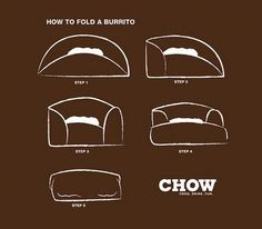 A Burrito | 25 Tutorials To Teach You To Fold Things Like An Actual Adult