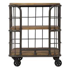 Beekman 1802 Masonic Table Cart