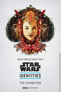 Check out these posters for the upcoming Star Wars Identities exhibit. If you're in Montreal, Canada, you should check out the Star Wars Identities exhibit on April The show will also come to Edmonton on Star Wars Film, Star Wars Poster, Star Trek, Reina Amidala, Queen Amidala, Starwars, Star Wars Party, Star Wars Identities, Exposition Interactive