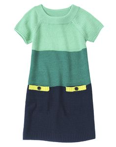 Colorblock Sweater Dress at Crazy 8 (Crazy 8 4-14y)